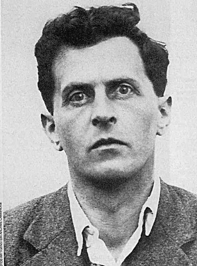 """Ludwig Wittgenstein. """"Well, God has arrived. I met him on the 5:15 train.Said Maynard Keynes, at a 1929 return of Wittgenstein to Cambridge after fifteen years away."""""""