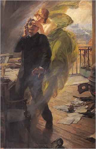 Albert Maignan, The Green Muse