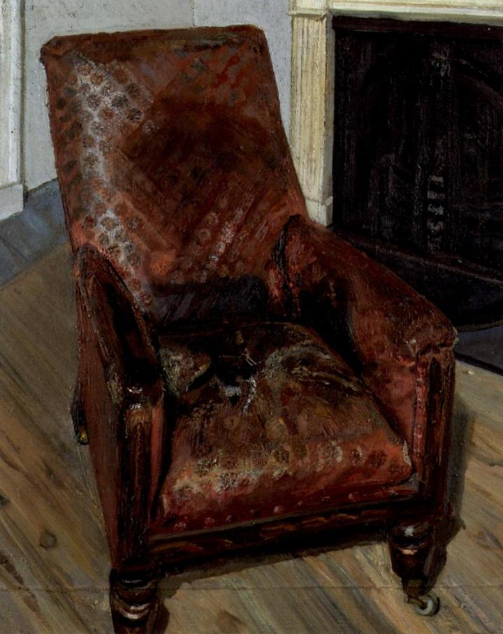 Armchair by the Fireplace (1997)
