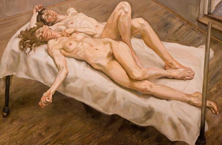 Lucian Freud: Two Women (1992)