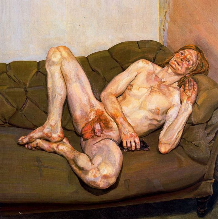 Naked Man With a Rat (1978)
