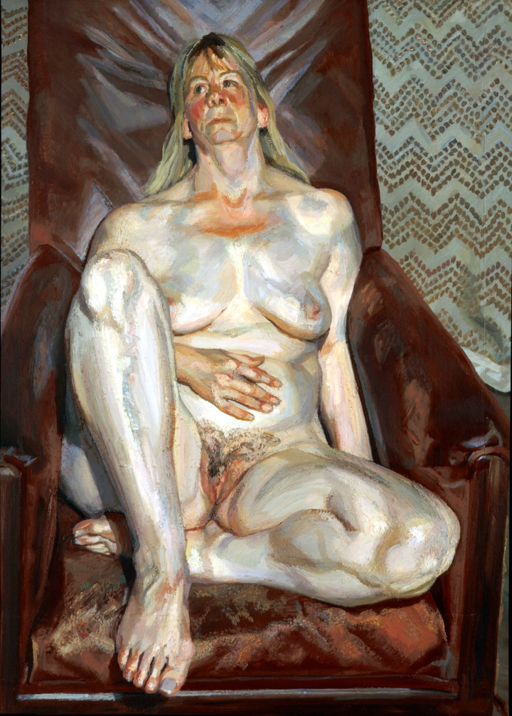 Naked Portrait in a Red Chair (1999)