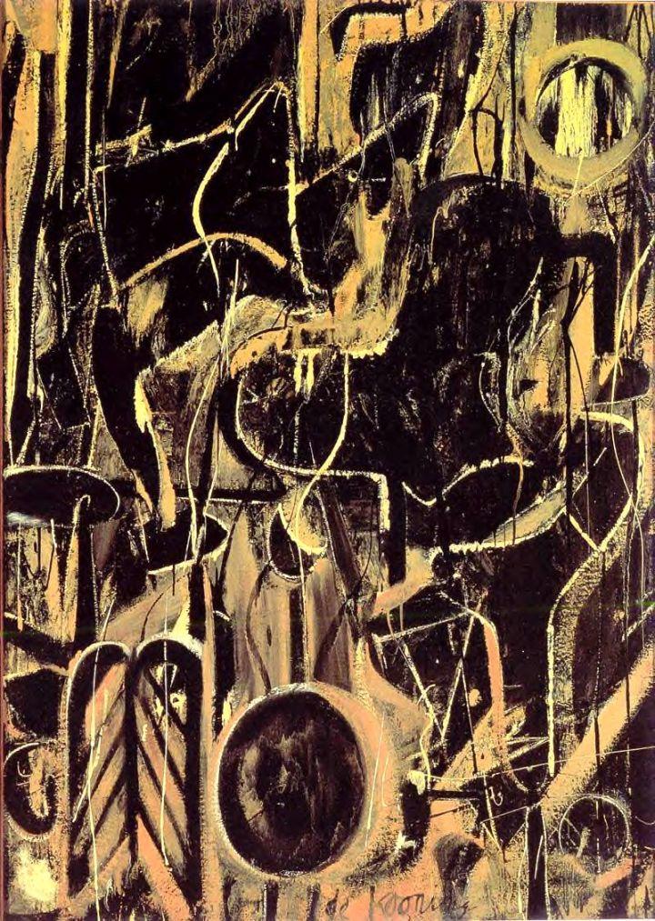 Willen De Kooning, Light in August (1946)