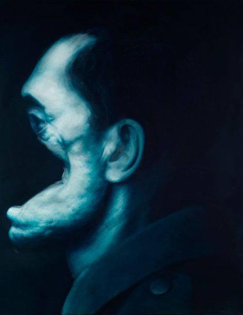 Gottfried Helnwein, Righteous Man III, 1991