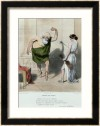 Honoré Daumier: Socrates visiting Aspasia.