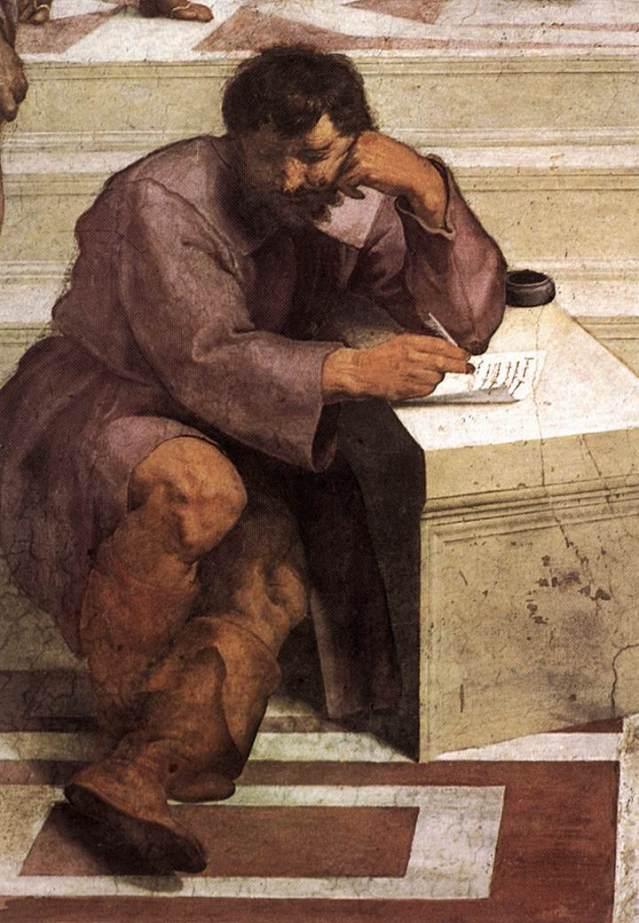 Rafael, Heráclito