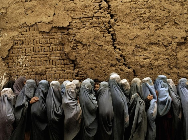 AFGHANISTAN. 2004. Voting during Afghan Presidential Elections