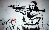 Banksy-monalisa