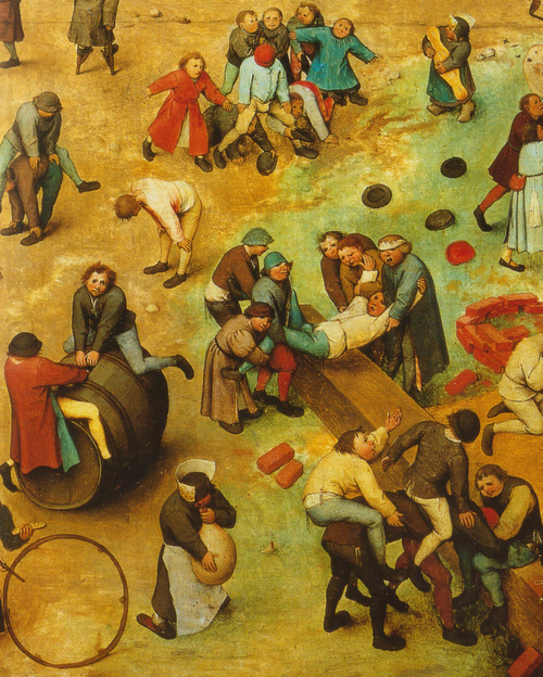 Peter Brueghel el Viejo, Juegos de niños (1560)
