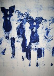 Yves Klein, Antropometrías