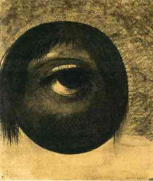 Odilon Redon, Vision, c. 1883