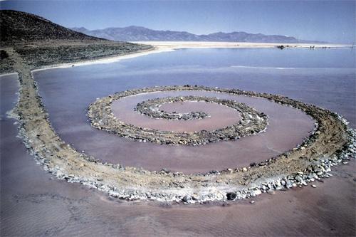 Robert Smithson: Spiral Jetty (1970)