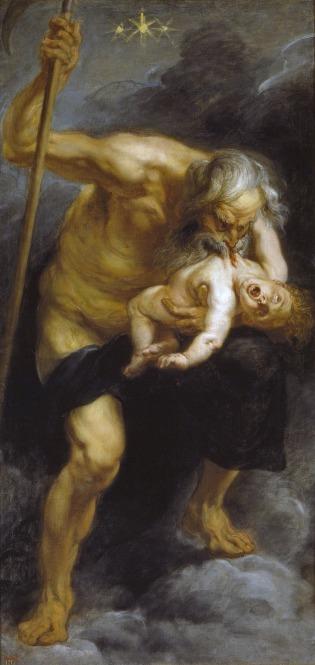 Rubens (1636) Saturn devouring his Son
