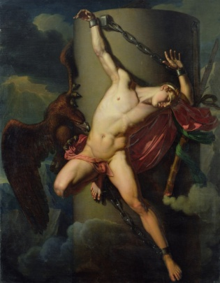 Jean Louis Cesar Lair: The torture of Prometheus