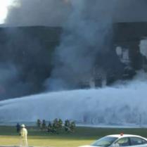 Boeing 757 que impactó contra el Pentágono el 11 de septiembre de 2001.