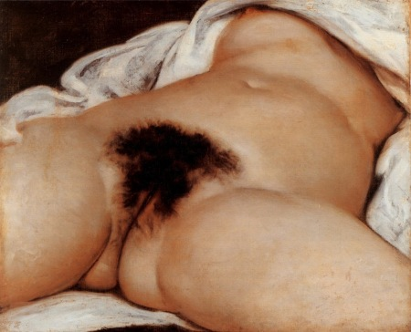 1866 Courbet L'Origine du monde, The Origin of the world,