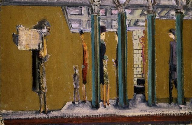 Rothko realista: 1937, Sin título (metro). Washington DC The National Gallery of Art