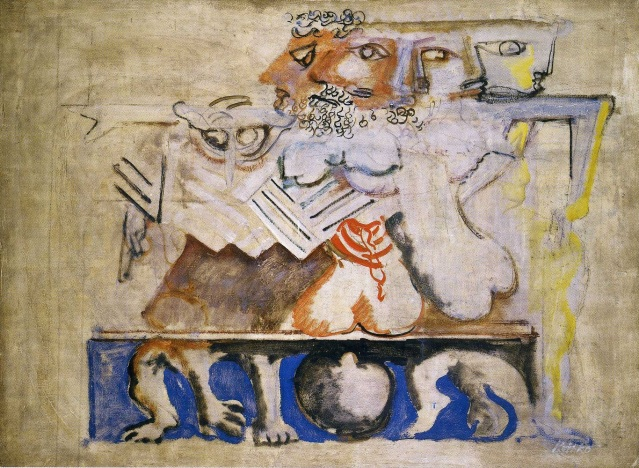 Rothko surrealista: 1939-1940, Antígona. Washington DC The National Gallery of Art