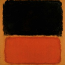 Rothko clásico: 1962, Sin título (Negro y naranja sobre rojo) Museo de Arte Ho-Am Seúl.
