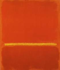 1969 Rojo, amarillo, rojo Colección privada
