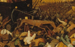 Brueghel El triunfo de la muerte, 1562, Museo del Prado, Madrid.
