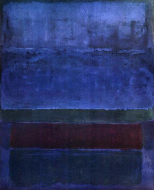 Mark Rothko, Blue Green and Brown, 1951