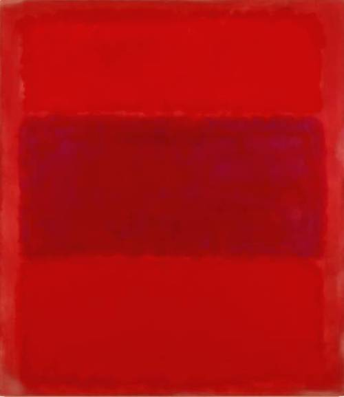 No. 301 (Reds and Violet over Red Red and Blue over Red) [Red and Blue over Red], 1959