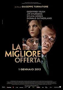 Cartel de The Best Offer (Tornatore, 2013)