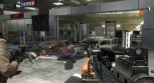 Matanza de civiles en un aeropuerto por un comando de militares rusos.
