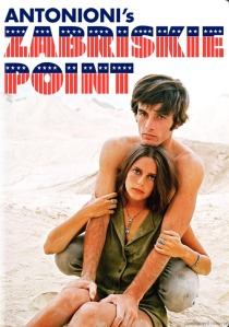 Cubierta DVD Zabriskie Point (Antonioni, 1970)