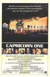 Cartel de Capricorn One (Hyams, 1977)