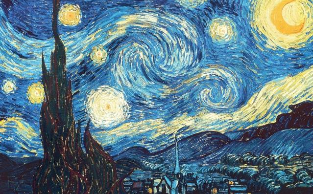 Vicent Van Gogh: La noche estrellada (1889, MOMA, Nueva York)