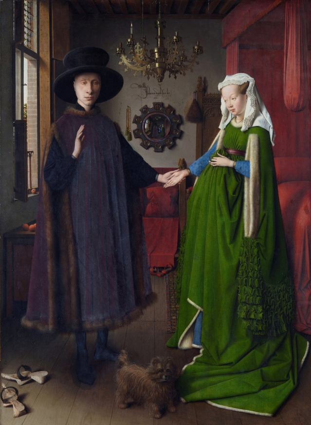 Arnolfini Portrait, by Jan van Eyck, 1434