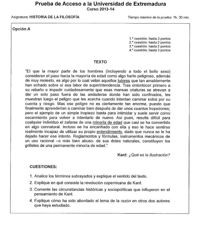examen historia filosofia pau 2014 julio a