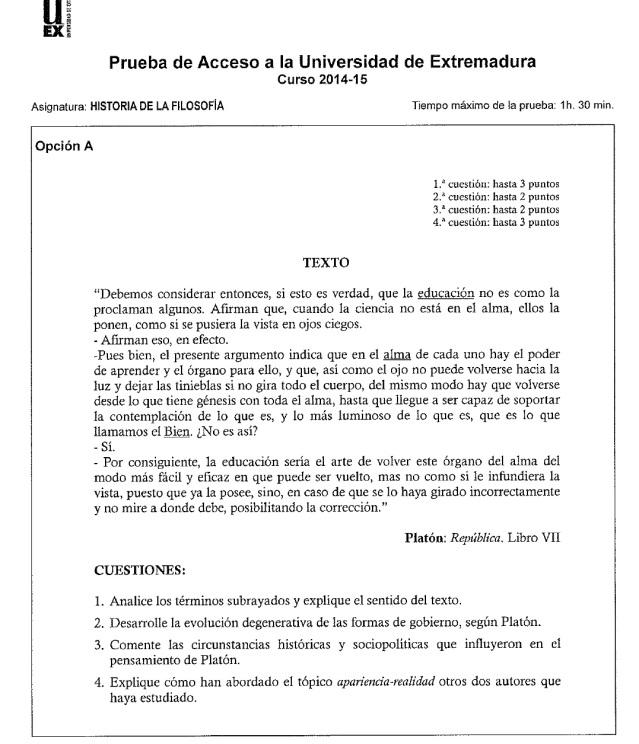 examen historia filosofia pau 2015 junio a