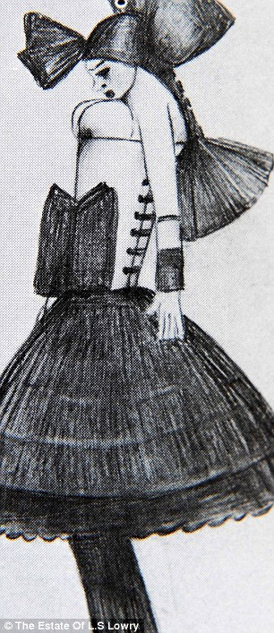 Drawing of Carol found after Lowry's death (2)