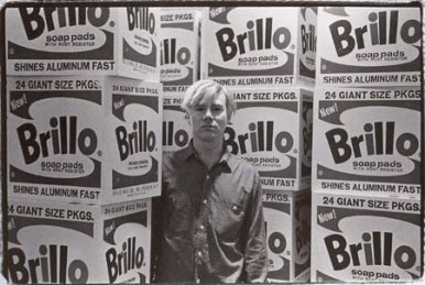 Andy Warhol: Brillo Boxes, 1964.
