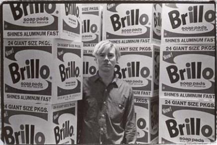 Andy Warhol: Brillo Boxes, 1964.