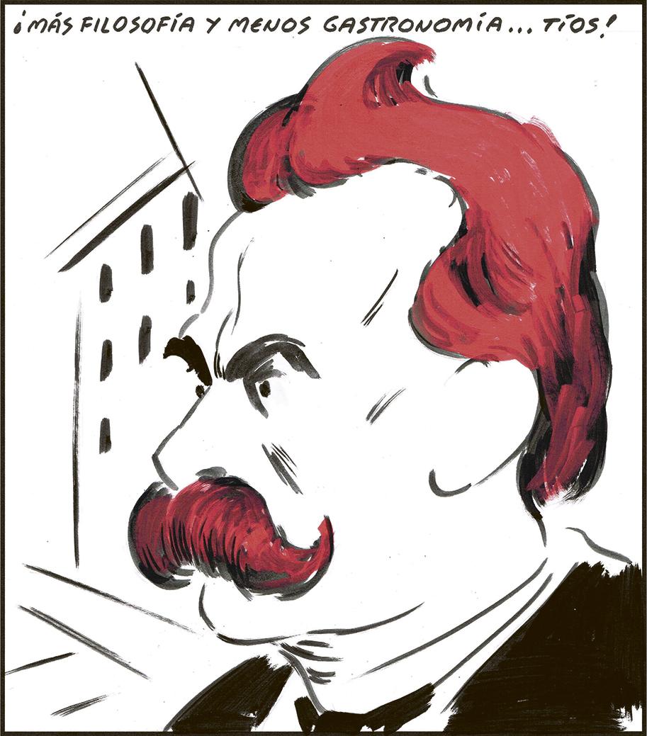 Resultado de imagen de El Roto- Filosofía y gastronomía