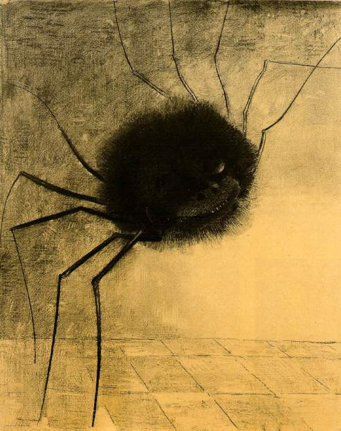 Odilon Redon: The Smiling Spider