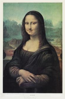 """Duchamp: L.H.O.O.Q. (1919) El acrónimo corresponde fonéticamente con """"«Elle a chaud au cul»"""", es decir, """"ella está sexualmente excitada"""""""