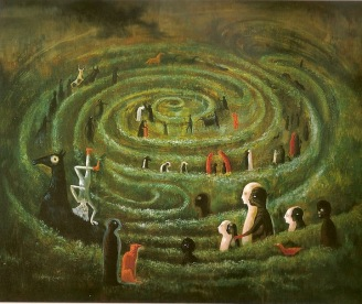 Leonora Carrington Labyrinth