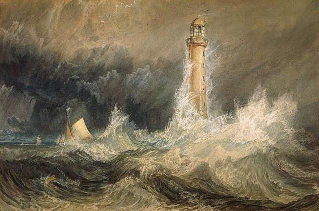 Joseph William Turner: El faro de Bell Rock (1819)