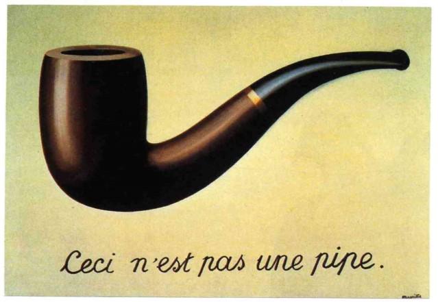 R. Magritte: La traición de las imágenes