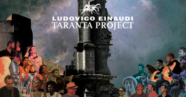 Portada del CD de Ludovico  Einaudi; Taranta Project (2015)