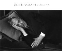 Duane Michals: Rene Magritte Asleep, 1965