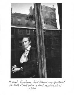 Duane Michals: Marcel Duchamp