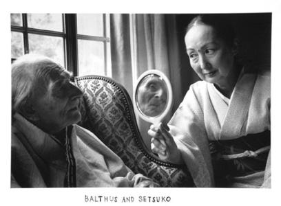 Duane Michals: Balthus and Setsuko, 2000gelatin silver printimage, 6 x 9 inchespaper, 8 x 10 inchesDMI.160