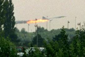 Concorde crash, July, 2000
