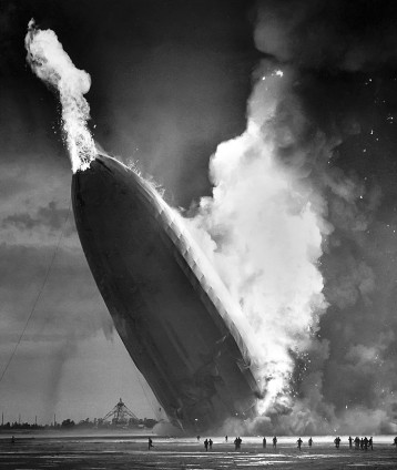 Hindenburg disaster, New Jersey, 1937